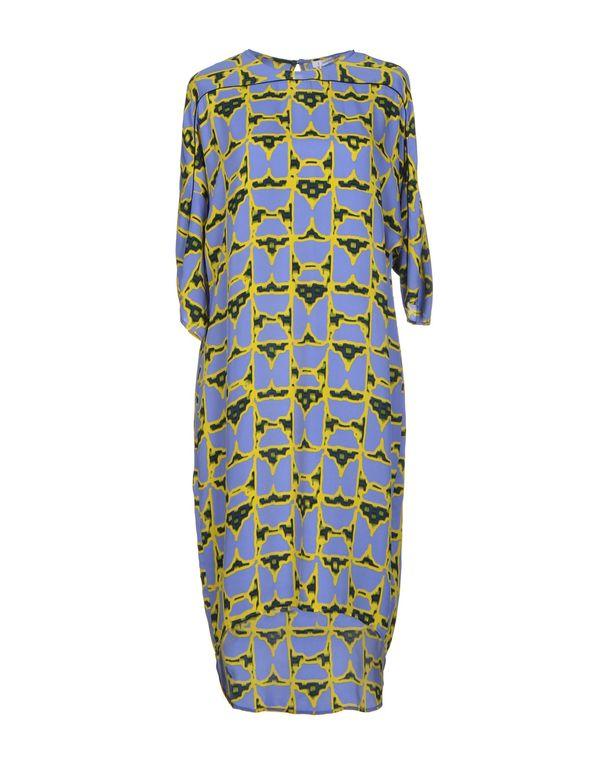 中蓝 10 CROSBY DEREK LAM 及膝连衣裙