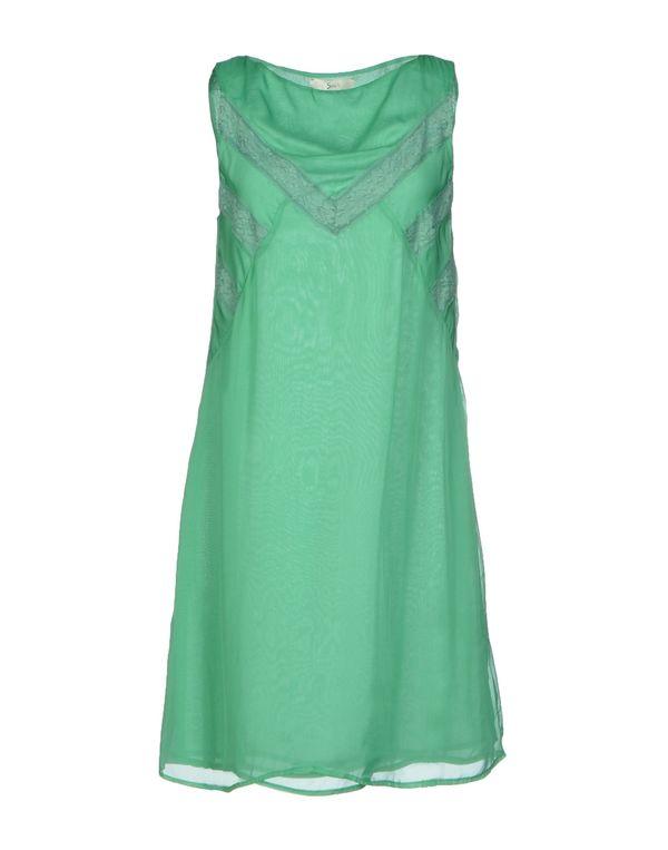 浅绿色 SUOLI 短款连衣裙