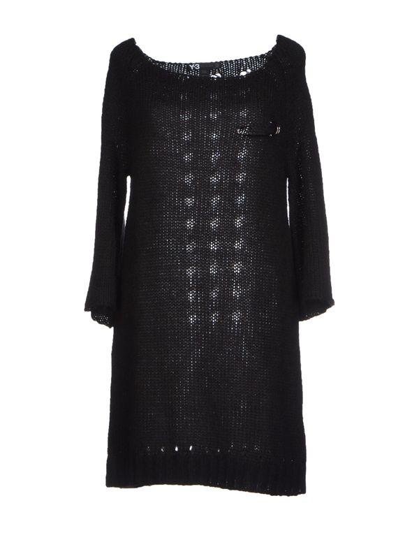 黑色 Y-3 短款连衣裙