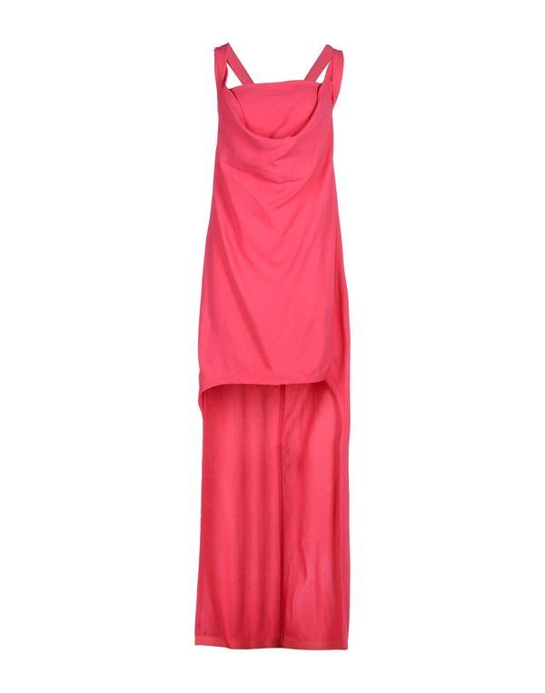 玫红色 PATRIZIA PEPE 短款连衣裙