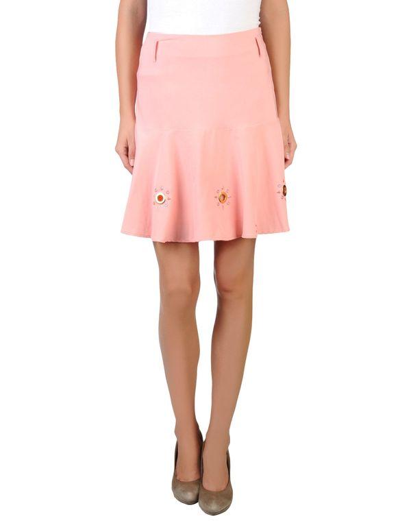 粉红色 CLASS ROBERTO CAVALLI 超短裙
