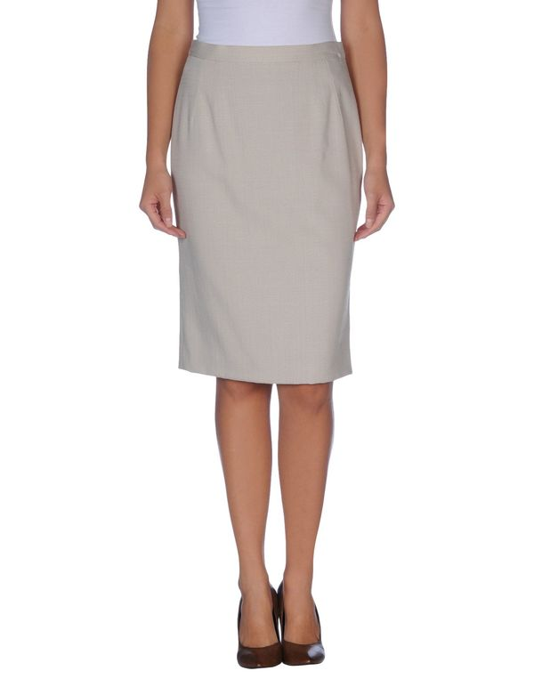 淡灰色 DOLCE & GABBANA 及膝半裙