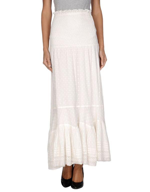 白色 HIGH 长裙