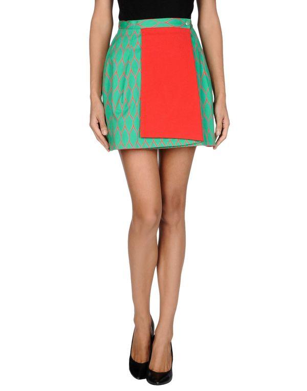 绿色 KENZO 超短裙