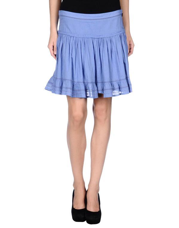 粉蓝色 GALLIANO 超短裙