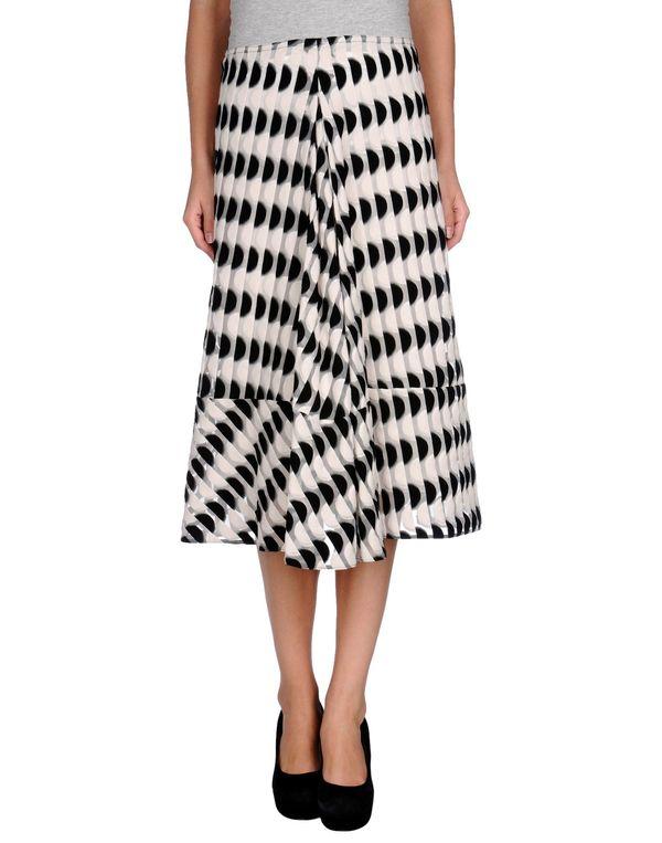 黑色 MARNI 半长裙