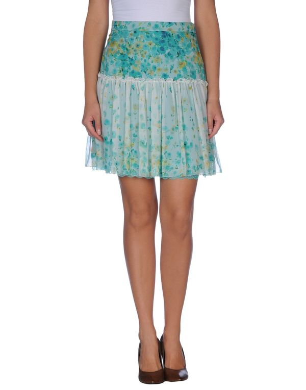 浅绿色 BLUGIRL BLUMARINE 及膝半裙