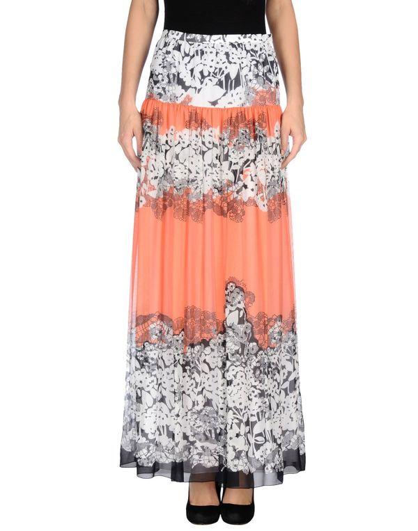 鲑鱼粉 BLUMARINE 长裙