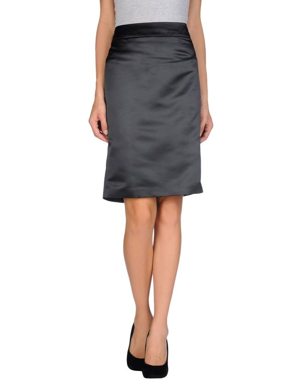 黑色 ARMANI COLLEZIONI 及膝半裙