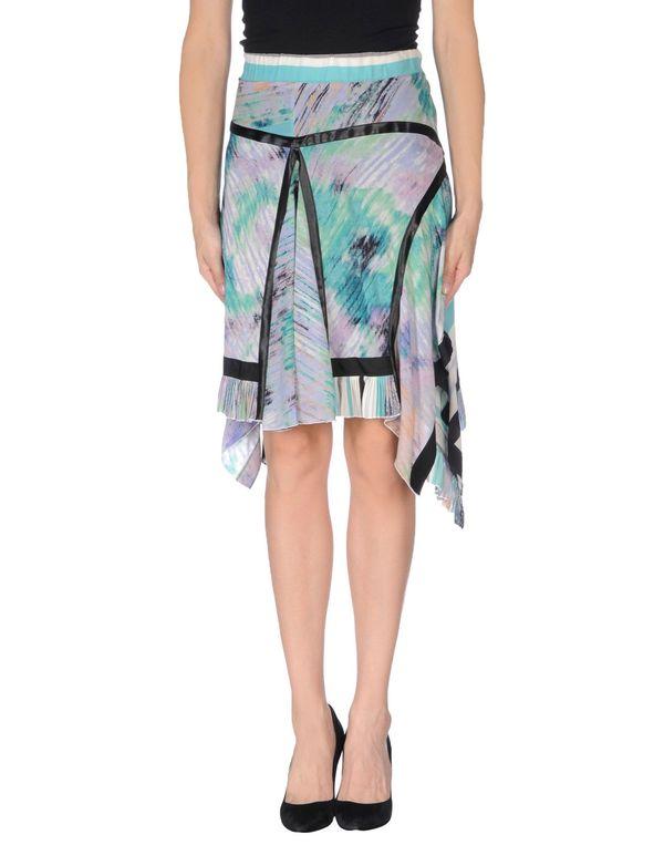 丁香紫 CLASS ROBERTO CAVALLI 及膝半裙