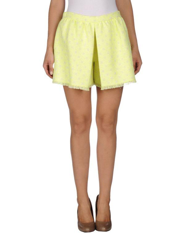 黄色 MOSCHINO CHEAPANDCHIC 超短裙