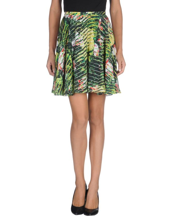 浅绿色 KENZO 及膝半裙