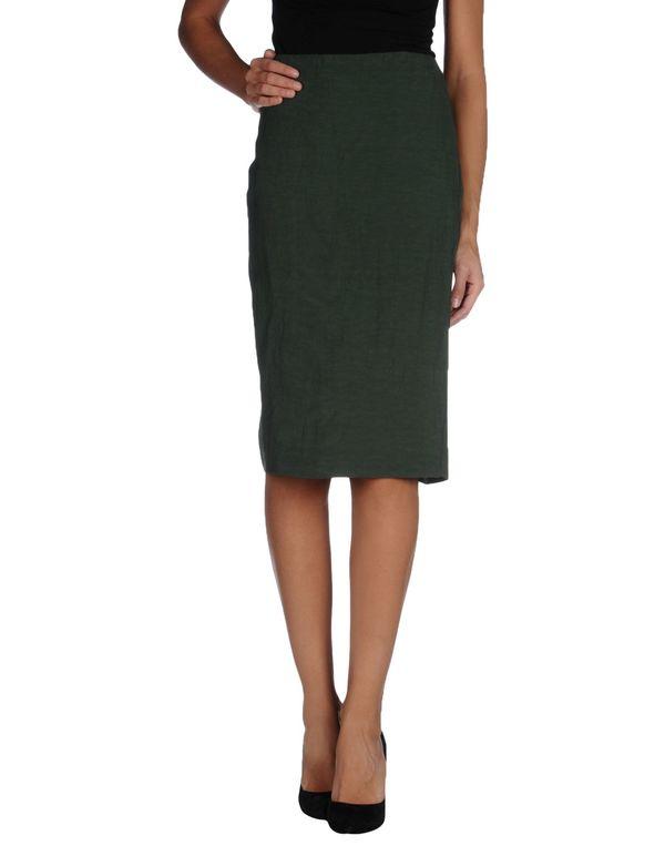 绿色 MARNI 及膝半裙