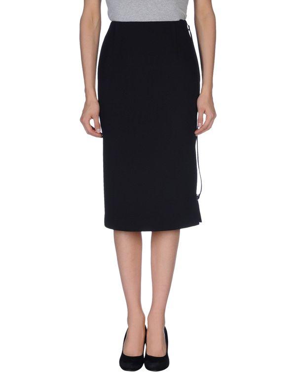 黑色 MAISON MARTIN MARGIELA 半长裙