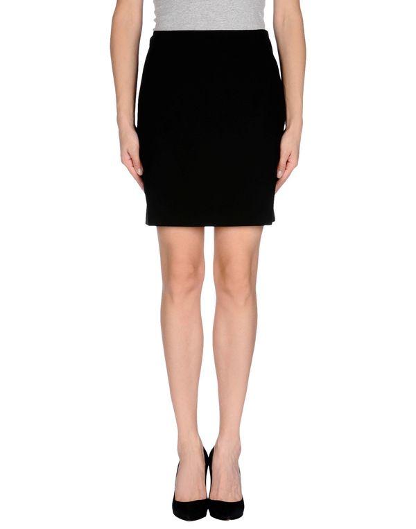 黑色 LANVIN 及膝半裙