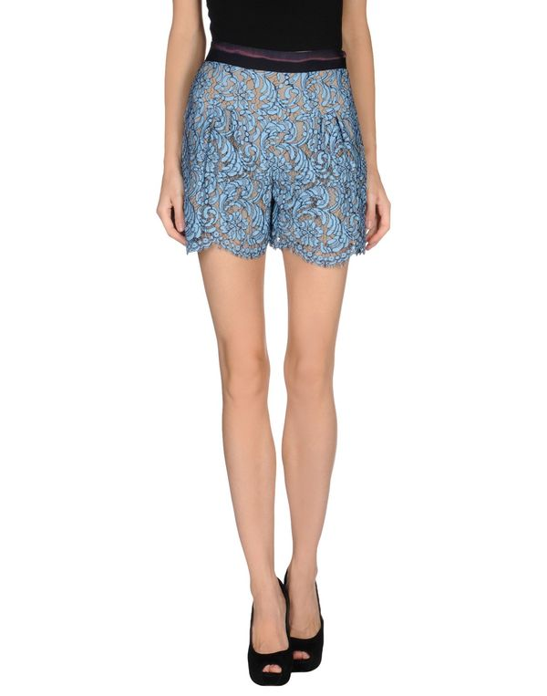 石青色 MSGM 短裤