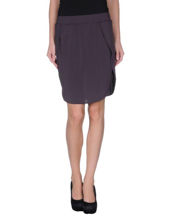 深紫色 NEIL BARRETT 及膝半裙