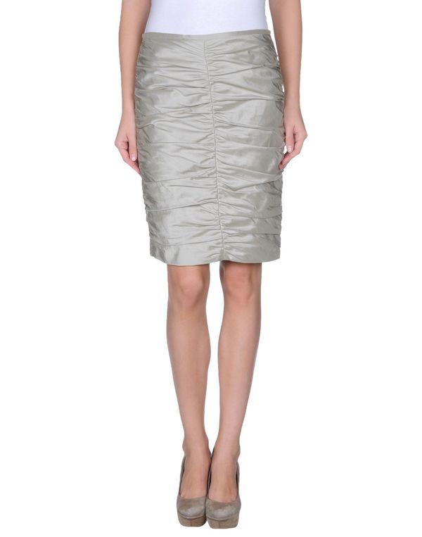 灰色 ARMANI COLLEZIONI 及膝半裙