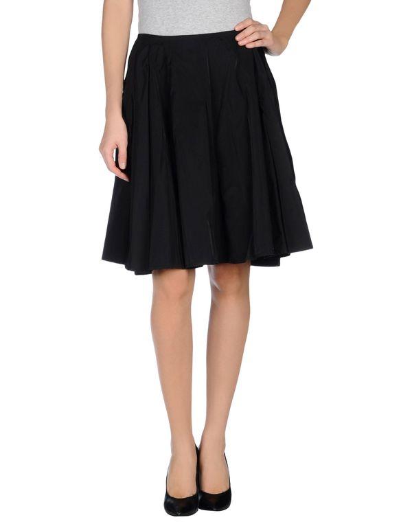 黑色 JO NO FUI 及膝半裙