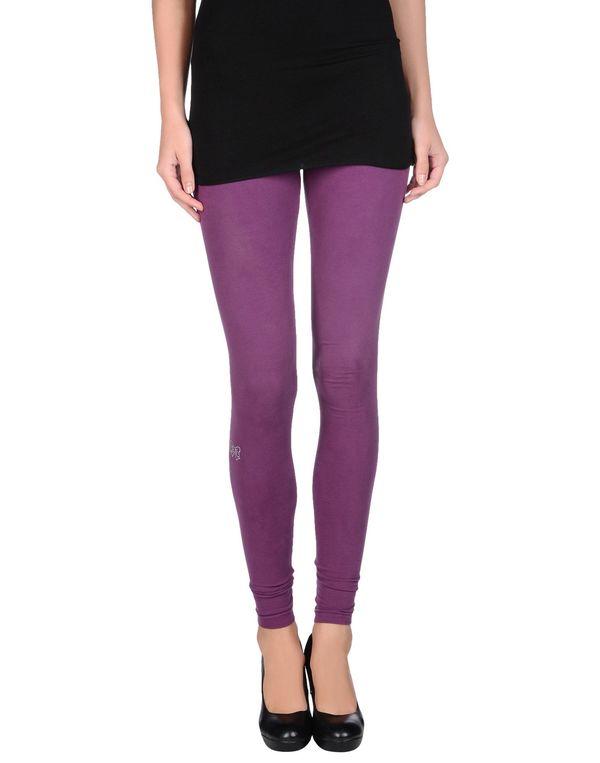 紫色 ATELIER FIXDESIGN 打底裤