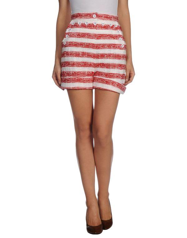红色 D&G 短裤