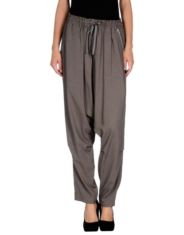 灰色 YOHJI YAMAMOTO 裤装
