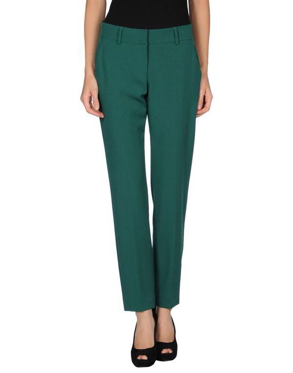 绿色 M MISSONI 裤装