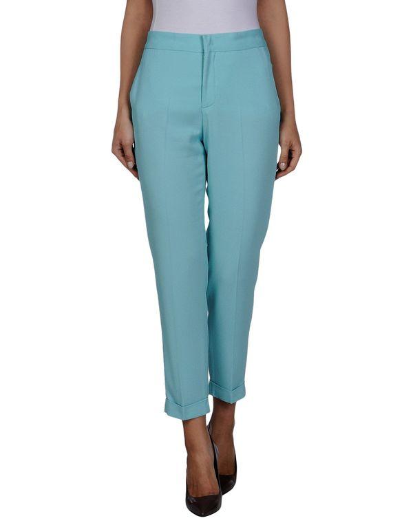 蓝绿色 MSGM 裤装