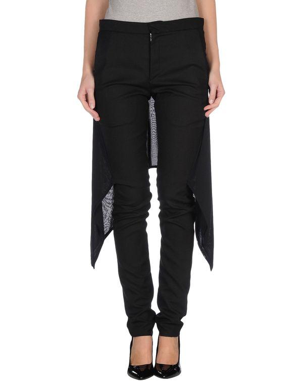黑色 GARETH PUGH 裤装