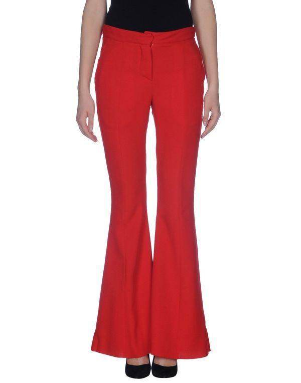 红色 GARETH PUGH 裤装