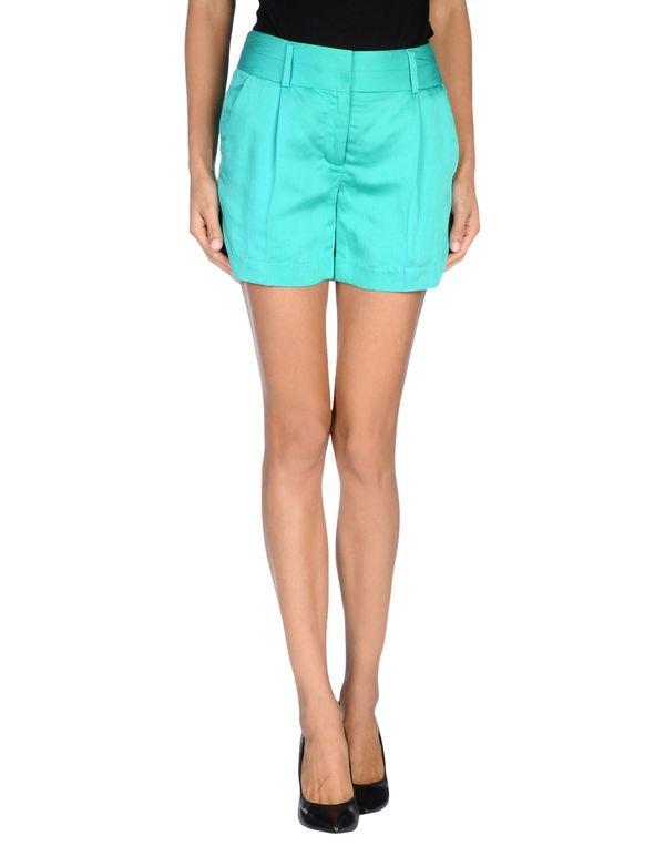 蓝绿色 MILLY 短裤