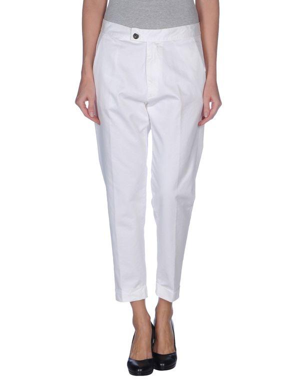 白色 M.GRIFONI DENIM 裤装
