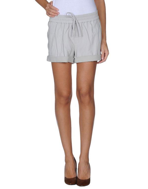 淡灰色 HELMUT LANG 短裤