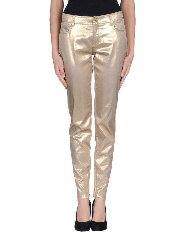 金色 D&G 裤装