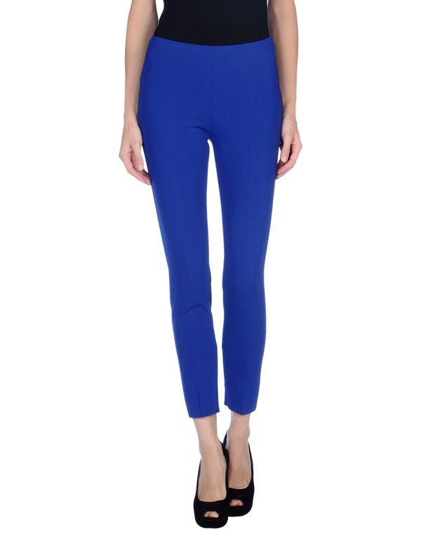 蓝色 MOSCHINO 裤装