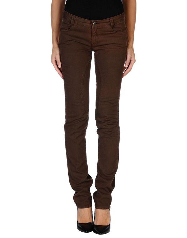 深棕色 SIVIGLIA 裤装