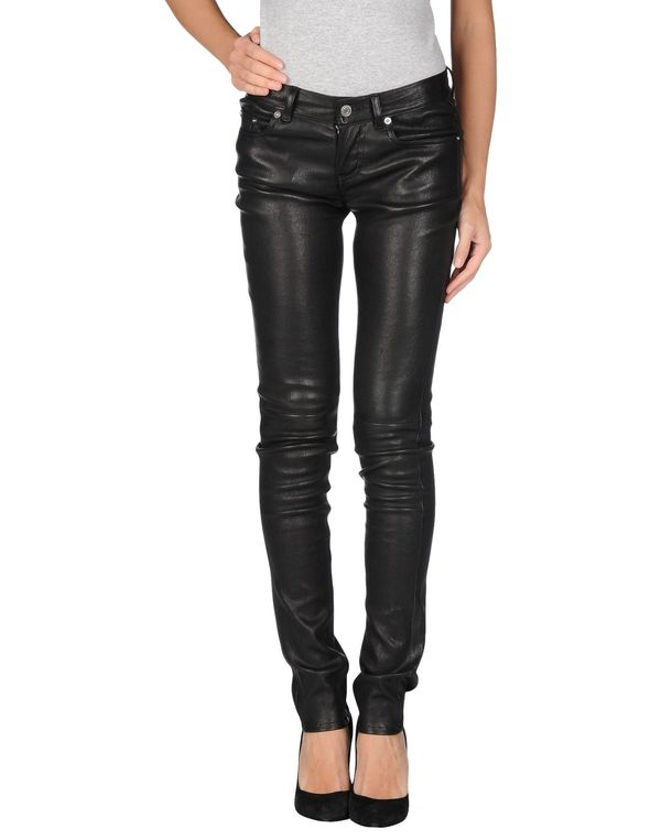 黑色 SAINT LAURENT 裤装
