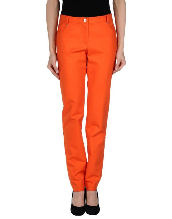 橙色 VERSACE 裤装
