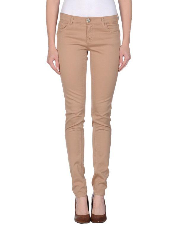 浅棕色 TWIN-SET JEANS 裤装