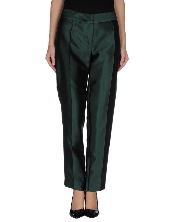 绿色 ALBERTA FERRETTI 裤装