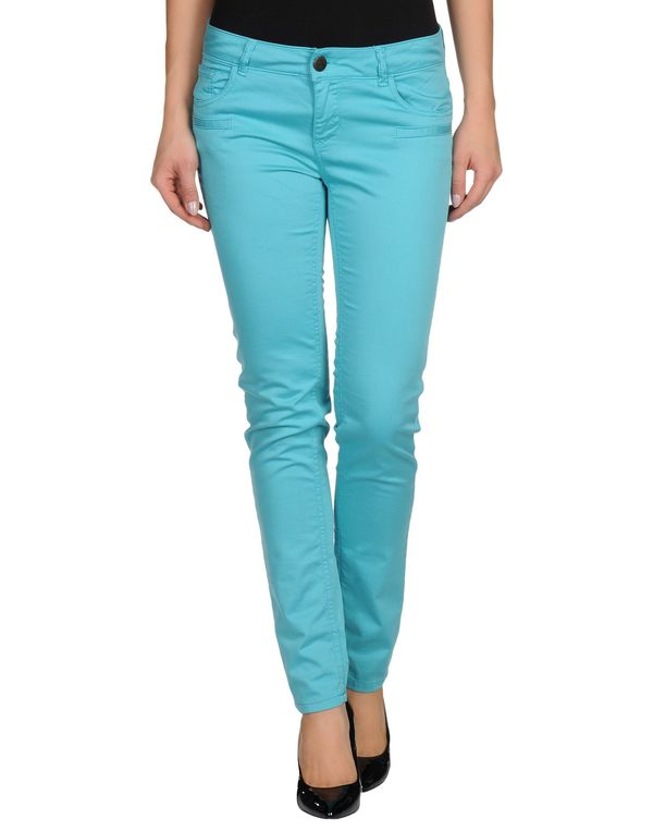 蓝绿色 TWIN-SET JEANS 裤装