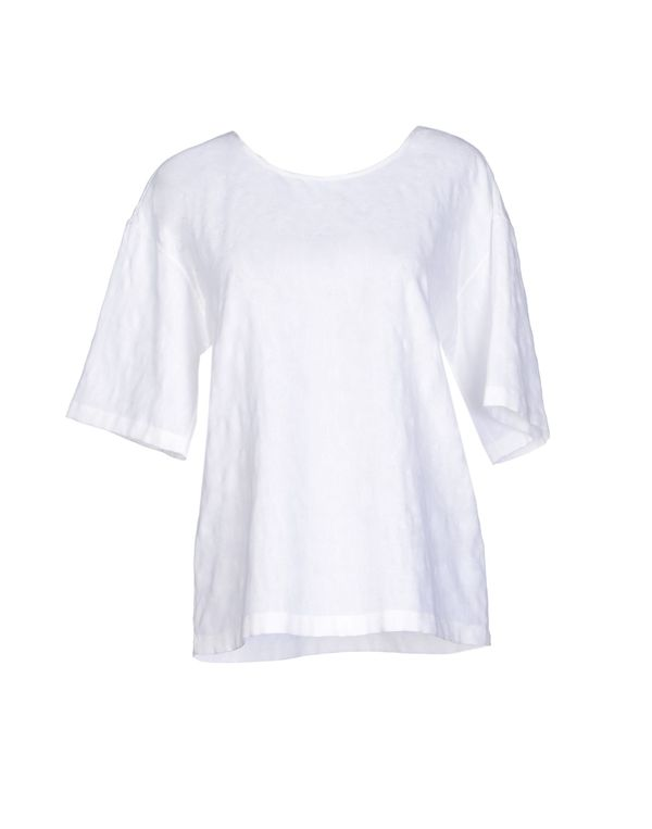 白色 JIL SANDER NAVY T-shirt