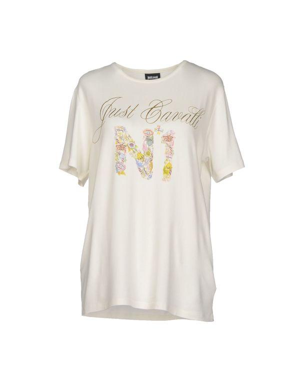 象牙白 JUST CAVALLI T-shirt