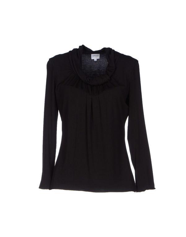 黑色 ARMANI COLLEZIONI T-shirt