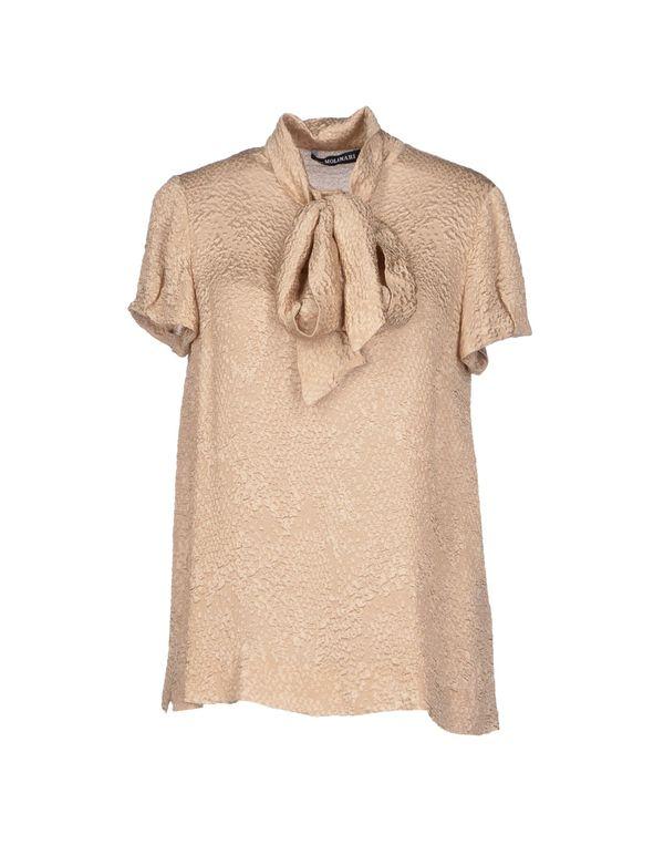 米色 ANNA MOLINARI 女士衬衫