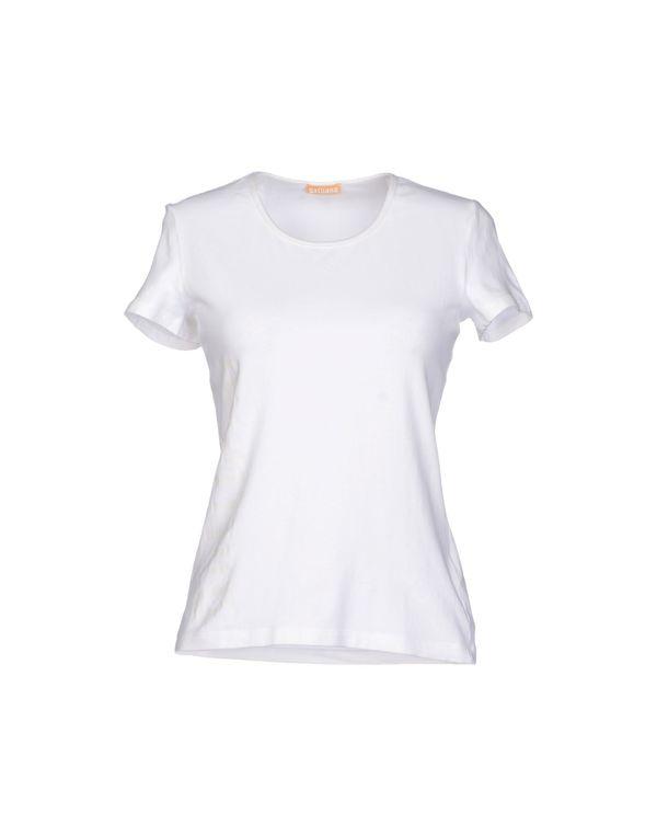 白色 GALLIANO T-shirt
