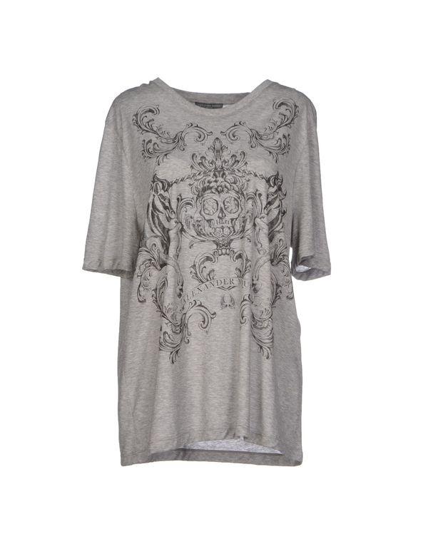 灰色 ALEXANDER MCQUEEN T-shirt