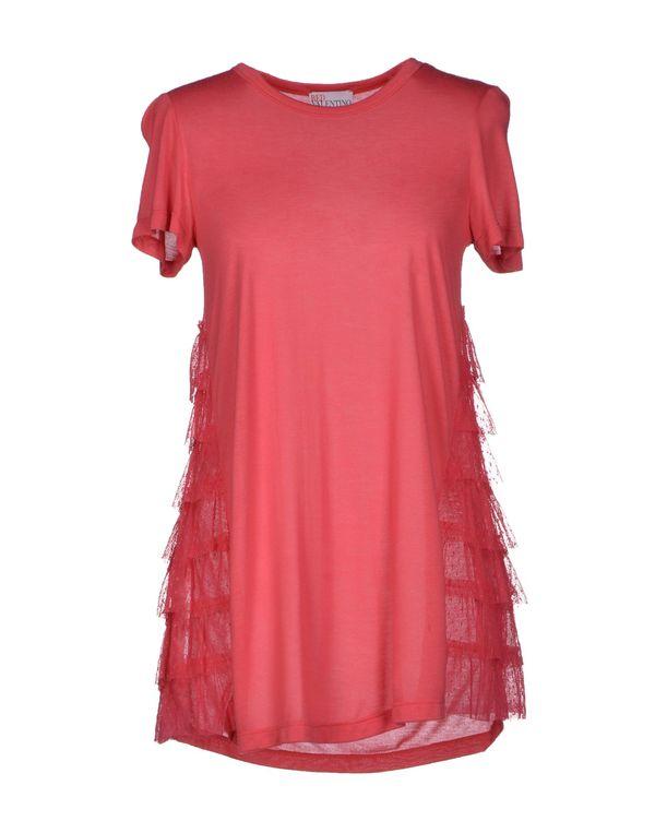 珊瑚红 REDVALENTINO T-shirt