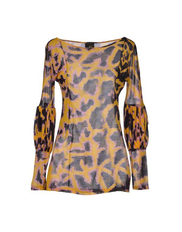 赭石色 JUST CAVALLI T-shirt