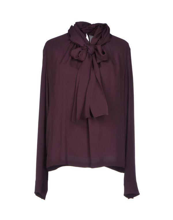 深紫 DIOR 女士衬衫